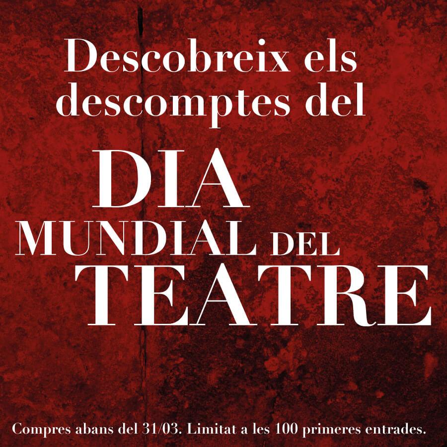 dia mundial del teatre