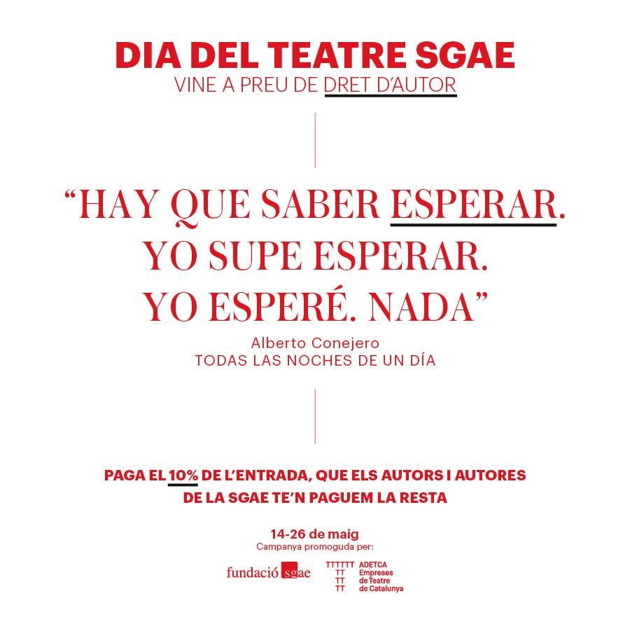teatre goya todas las noches de un dia